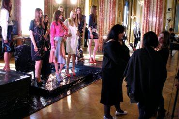 Gosia Baczyńska Pokaz Mody w Paryżu